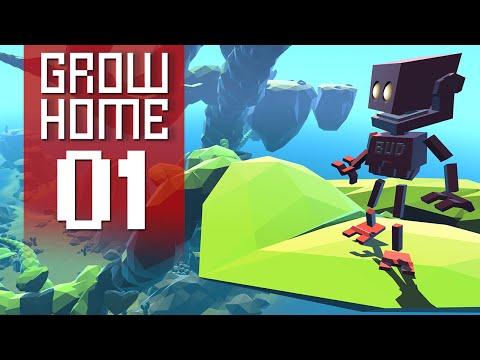 Grow Home - Part 1 - Huge Plant (Gameplay Walkthrough)