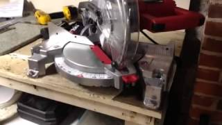Getting Ready To Use Your Skil Saw Compound Miter Table Saw.