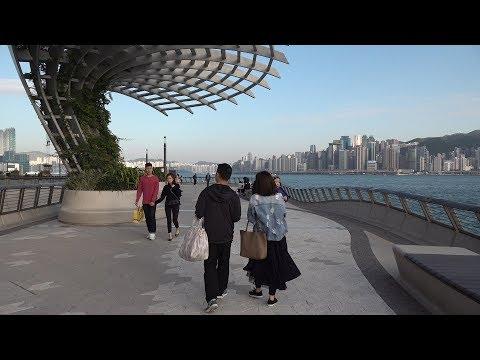 Прогулка по Гонконгу. 4К