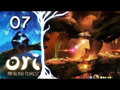 Ori and the Blind Forest [HD/Blind] Playthrough part 7 (Underwater Exploration + Stomp ability)