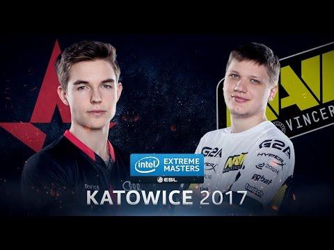 CS:GO - Astralis Vs. Na'Vi [Mirage] Map 1 - Quarterfinal - IEM Katowice 2017