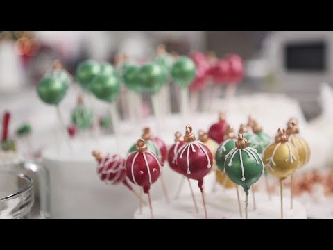 The Magic Behind The Ornament Balls On Our December Cover Cake | Southern Living