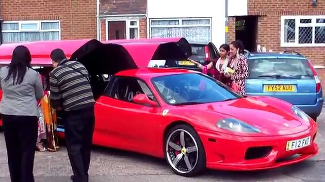 Ferrari Limo Part Youtube