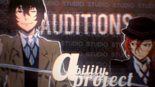 「abilitypro」1st audition closed