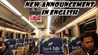 MAKIN CANTIK!! Suara Announcer Kereta Api Bahasa Inggris Terbaru