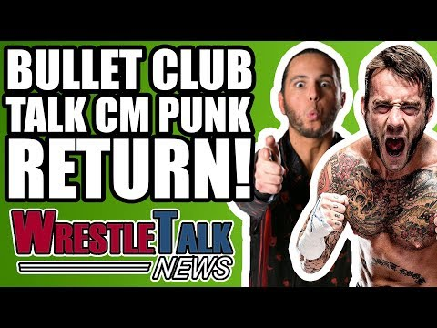 ROH Backstage FIGHT! Bullet Club Talk CM Punk Wrestling RETURN! | WrestleTalk News Apr. 2018