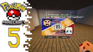 Minecraft Pixelmon (Public Server) - EP05 - First Battle!