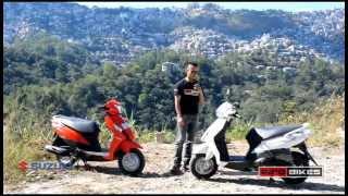 Suzuki Let's Scooter test ride review | Info Bikes (Part-1)