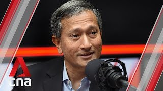 CNA938 interview Vivian Balakrishnan on the Singapore Malaysia ties and projects