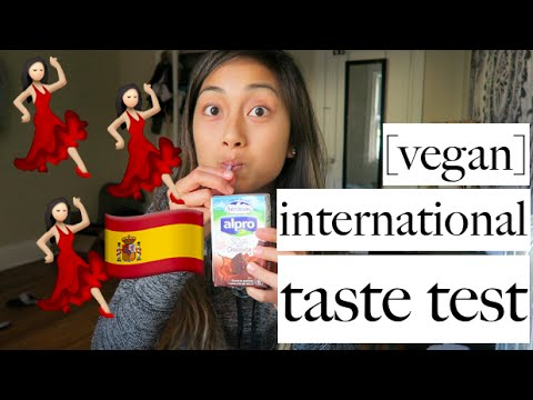 VEGAN INTERNATIONAL TASTE TEST | applesandamandas
