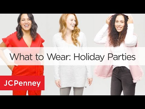 3 Holiday Party Outfit Ideas - Holiday Party Lookbook 2018 | JCPenney