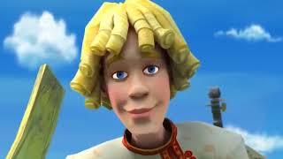 Полнометражные мультфильмы. Волшебные яблоки Аленушки.1 часть.