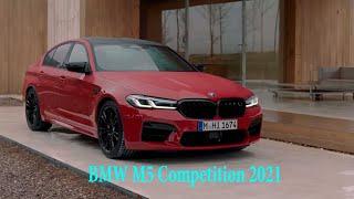BMW M5 Competition F90 2021 года - тест-драйв, обзор, цена