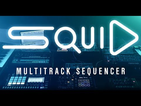 """TORAIZ """"SQUID"""" Official Introduction – The new multitrack sequencer"""