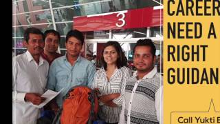 Airport Diaries (Part 4)- Interview of students departing for MBBS abroad | Yukti Belwal