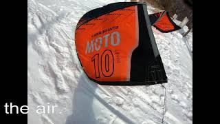 Cabrinha Moto 2021 unboxing & first flight