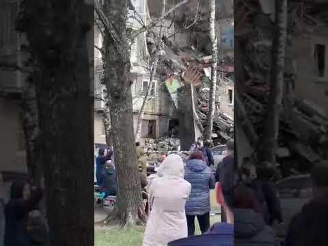 Взрыв жилого дома в Орехово-Зуево в Московской области. Есть пострадавшие люди.