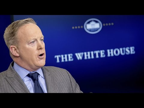 LIVE: Press Secretary Sean Spicer Daily White House Press Briefing Presser Stream from Washington DC