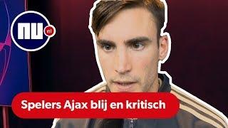 Buitenlandse Ajax-spelers zijn blij, maar zien ook dat er nog veel moet gebeuren