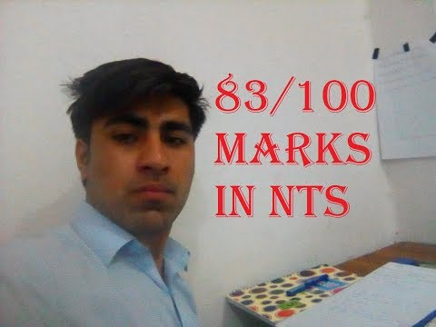 NTS Test preparation Tips 5 Methods I use to get 83 Marks out of 100 In NTS NAT
