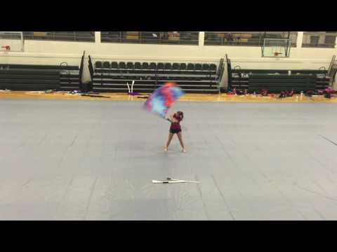 """""""Blown Away"""" Color Guard Routine"""