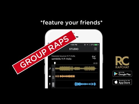 Group Raps LIVE on Rapchat app