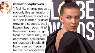 Millie Bobby Brown Slams 'Inappropriate Comments' About Her