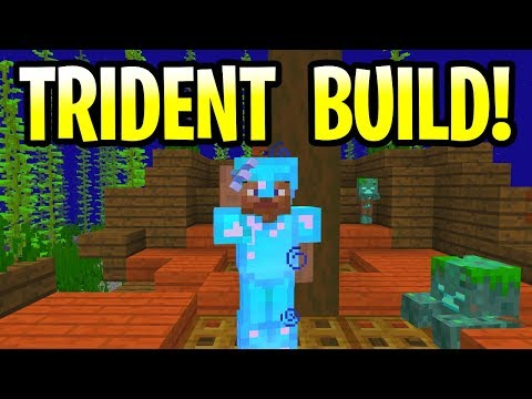 minecraft 1.13 how to make trident