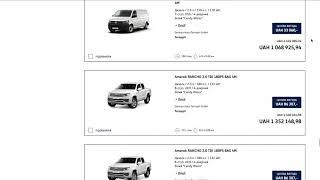 VW CV online sales