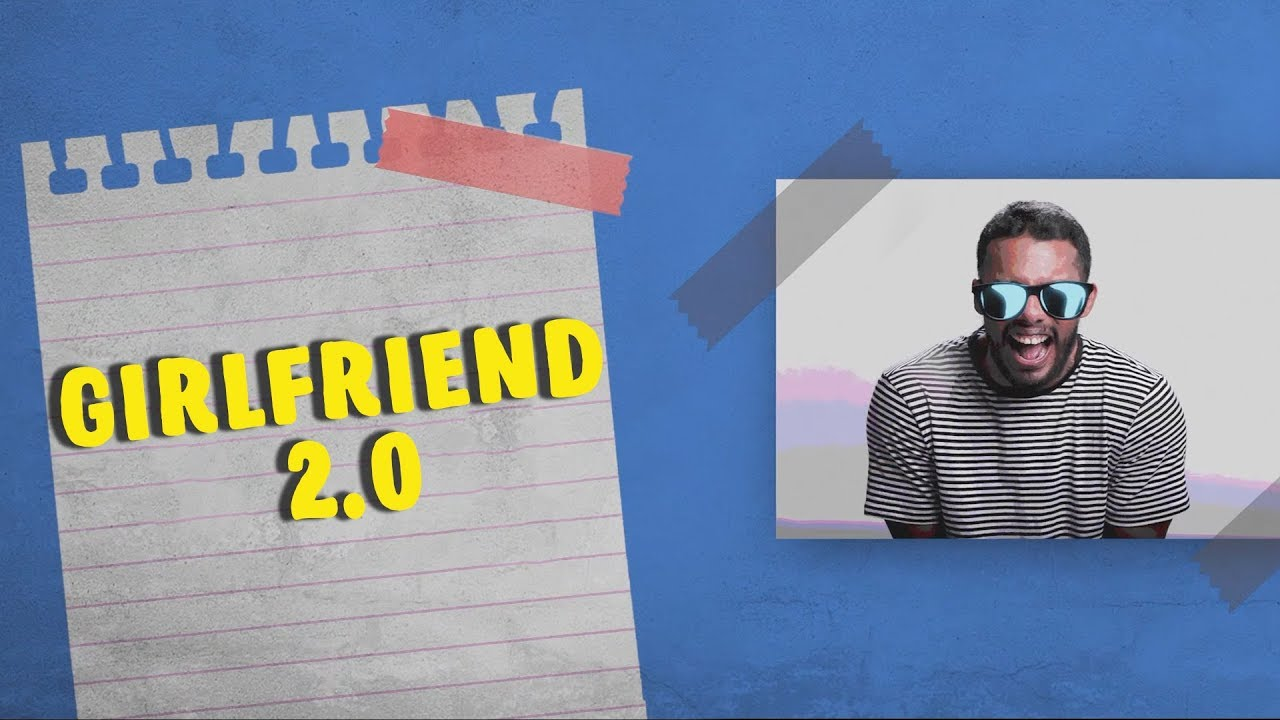 Dino James - Girlfriend 2.0 [Lyric Video]