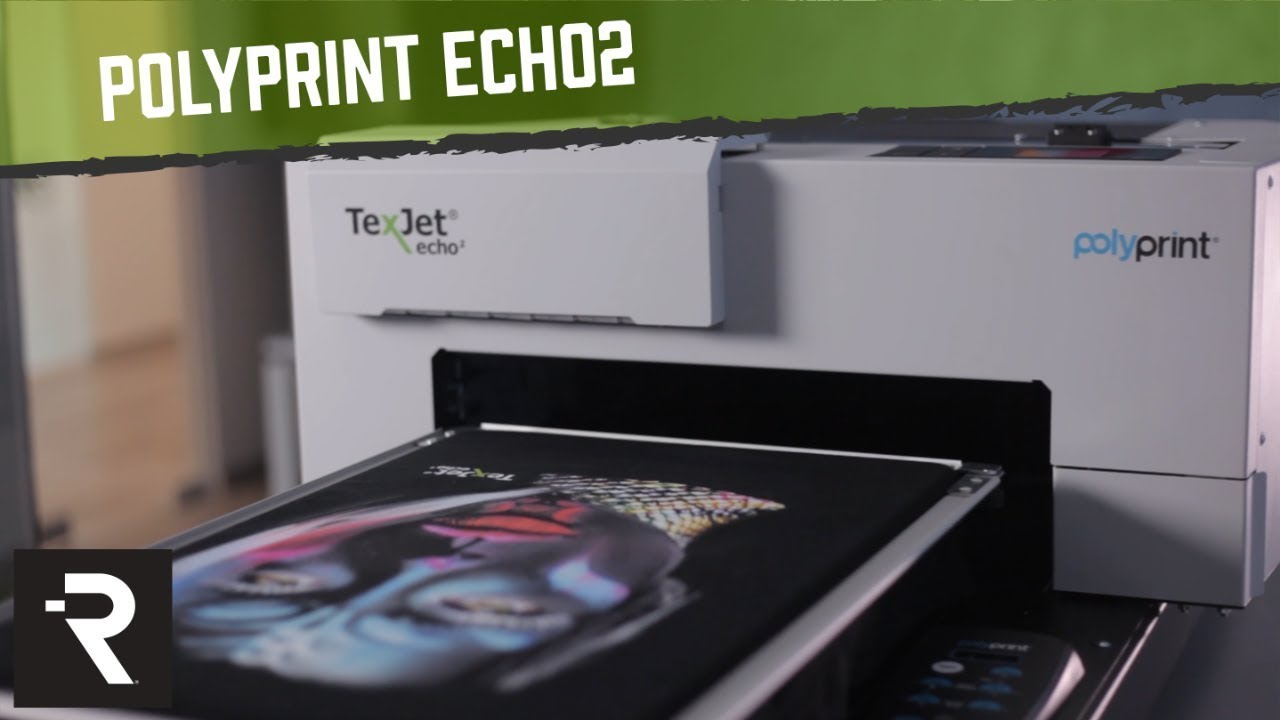 faf36f81 The NEW PolyPrint TexJet® echo² Direct To Garment Printer - YouTube
