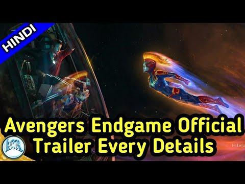 Avengers Endgame official teaser trailer Breakdown in hindi    Avengers 4 trailer    Changing AOR thumbnail