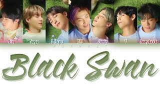 Download Mp3 Bts  防彈少年團  - Black Swan  Japanese Version  Lyrics  Color Coded Lyrics Eng/rom/k
