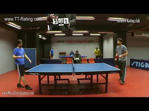 Masa Tenisi Turnuvası  - 110.TT-Rating ç.final  Maçı