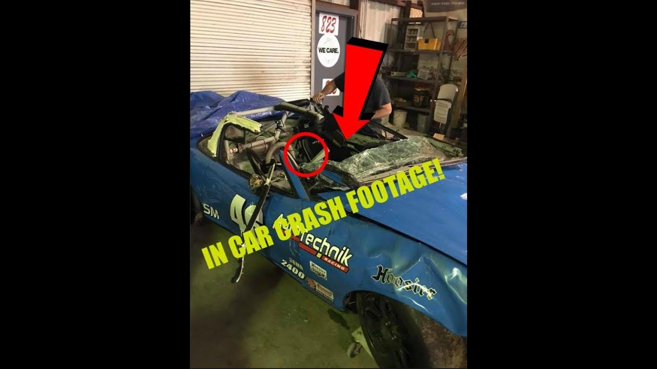 Wild In Car Crash at Sebring 2018 - YouTube