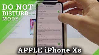 iPhone Xs DO NOT DISTURB / How to Enable Do Not Disturb in iOS