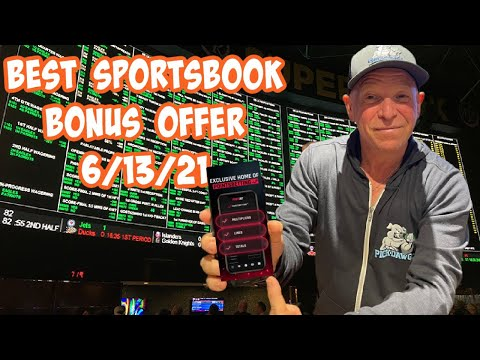 Best Online Sportsbook Bonus Offer Today 6/13/21