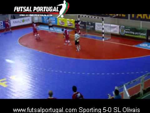 Futsal :: 09J :: Sporting - 5 x SL Olivais - 0 de 2011/2012