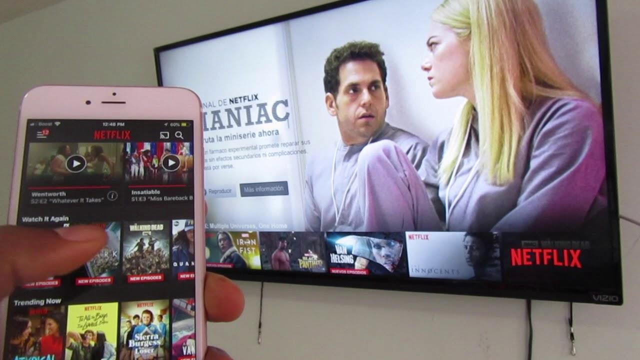 Como Conectar Mi Celular A Mi Tv Netflix O Youtube Facil Youtube