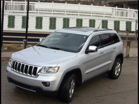 2012 Jeep Grand Cherokee Review and Drive Update