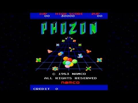 Phozon 1983 Namco Mame Retro Arcade Games