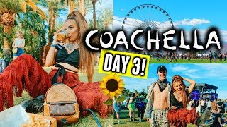 COACHELLA 2019 DAY 3🌵🌞 | Boyfriend does my makeup for the festival & Ariana!