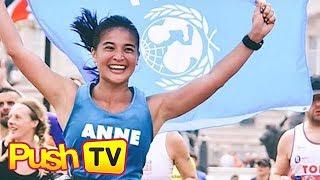 Push TV: Anne Curtis finishes the 2018 London Marathon