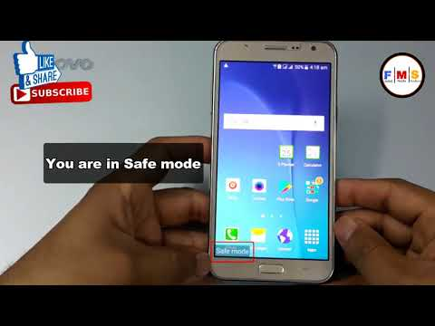 How To Enter Safe Mode In All  Samsung  Android