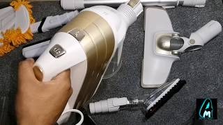 Puppyoo 3in1 Corded Handheld Mop Vacuum Cleaner WP521 (Review)