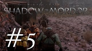 Shadow of Mordor Gameplay ~Captains Everywhere~ Part 5