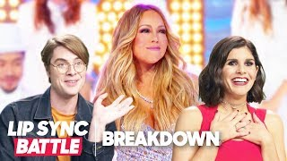 Mariah Carey Tribute – Darren Criss vs. Jermaine Dupri | Lip Sync Battle Breakdown