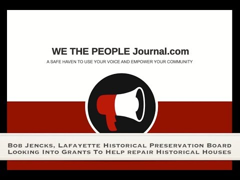 Lafayette CO Historical Preservation Society looking into grants to repair homes