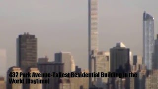 NEW TALLEST Building in WORLD..432 Park Avenue at NEW YORK CITY..