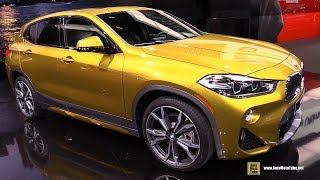 2019 BMW X2 xDrive 28i - Exterior and Interior Walkaround - Debut at 2018 Detroit Auto Show